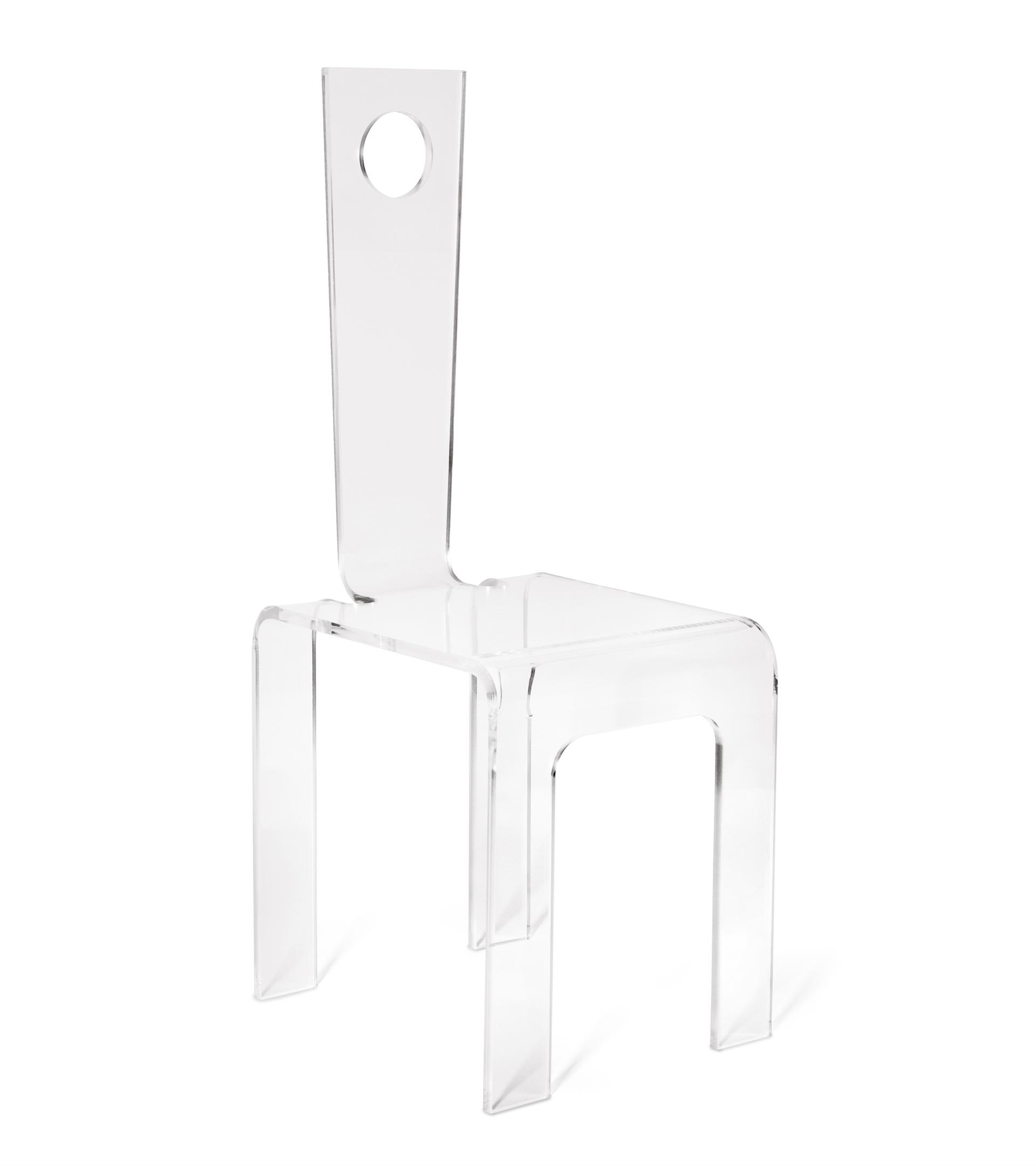 Sedie Plexiglass Design.Sedia Plexiglass Trasparente Tabada